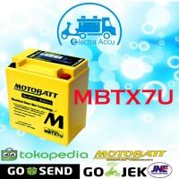 Aki Motor Vespa Sprint GT 150 Motobatt MBTX7U Accu Kering