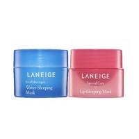 LANEIGE Sleeping Care Kit (Water Sleeping Mask + Lip Sleeping Mask)