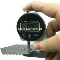 0-12.7mm Digital Thickness Gauge Alat Ukur Ketebalan Plat Kawat Kertas