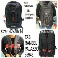 tas ransel sekolah palazzo 35945 backpack murah tas sekolah hitam