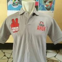 polo shirt/kaos kerah TEMAN AHOK