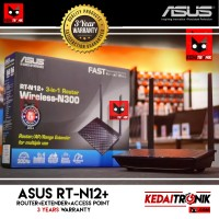 Asus RT-N12+ 300Mbps Router+Range Extender+Access Point RTN12+