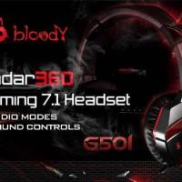 Headset Bloody G501 Radar 360 Gaming 7.1 Headphone