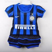 Baju Setelan Bola Baby Jersey Anak Bayi Cewek Nike Inter Milan Home 20