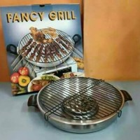 Alat Panggang Kompor Gas - Panggangan Sate Fancy Grill Roaster Maspion