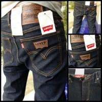 Celana Jeans Levis Pensil Skiiny Biru Hitam Garmen / Blue Black 27-32