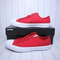 Sepatu converse CTII ox salsa Red lunarlon New Original BNIB