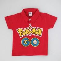 Kaos kerah anak dan bayi Pokemon Go