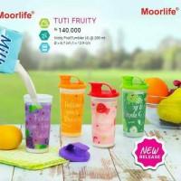 MOORLIFE TUTI FRUITY / TEMPAT MINUM / BEKAL / NON TUPPERWARE