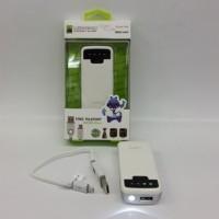 Powerbank HIPPO 5800mAh Snow White Simple Pack (PB 5800 mAh)