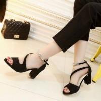 Sepatu Sandal High Heels Wanita Hak Tahu HT60
