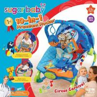 sugar baby bouncer premium 10 in 1 rocking kursi goyang bayi sugarbaby
