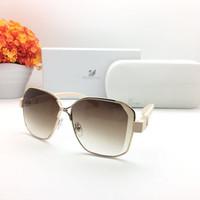 kacamata fashion wanita swarovski 26068 sunglasses