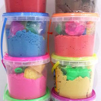 MAINAN PASIR PLAY SAND 300gr /Kinetic Sand Pasir Kinetik Magic PlaySan