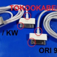 kabel data Iphone Usb 4s 4 3gs / Ipad 1 2 3 Ipod Itouch Apple -