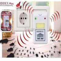 (New) Riddex Plus Pest Repelling Aid - Pengusir Kecoa Tikus Nyamuk
