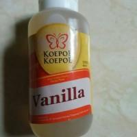 Pasta/Flavoring Vanilla+Koepoe Koepoe 60ml+Untuk Minuman dan Roti/Kue