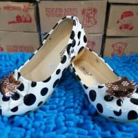 Sepatu Balet Anak Polkadot Hello Kitty