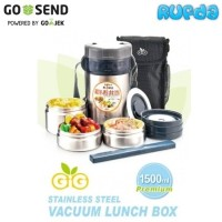 GiG Baby Vacuum Lunch Box / Jar Stainless Steel