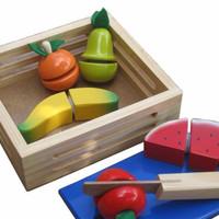 Mainan Edukasi Anak-Buah Potong