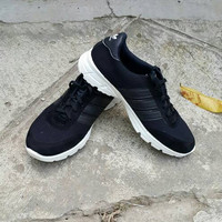 EXCLUSIVE Sepatu Pria Wanita Murah Kets Olahraga Replika Adidas Hitam