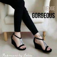 EXCLUSIVE Wedges Hitam V R33