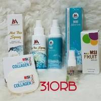 Paket MSI Bio Spray, Ion Silver, Serum , Sabun