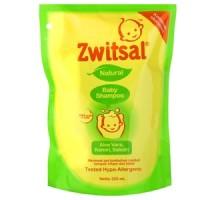 TERMURAH Zwitsal Baby Shampoo Natural Aloe Vera Pouch 250ml refill 250
