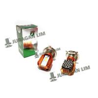 PROMO LED/CREE Headlamp RTD - H4 Tipe M11M + Kipas / Fan [MOTOR SPORT]