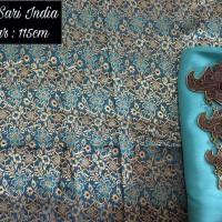 kain sari india meteran set kain balotely //manvis batik pekalongan