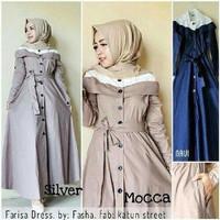 d.r grosir baju murah / baju Long dress / Farisa Dress