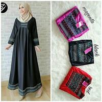 d.r Dress Murah / Dress Muslim / Maxi Dress / Zira Maxy