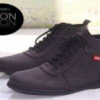 sepatu icon brodo sol hitam keren murah 100% barang baru