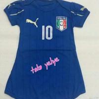 Dress baju bola anak perempuan/ itali