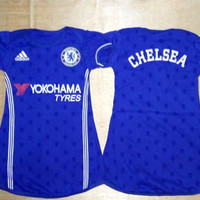 Baju Bola Anak Cewek / Baby dress bola Chelsea Home 16/17