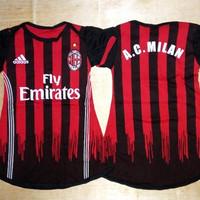 Baju Bola Anak Cewek / Baby dress bola AC Milan Home 16/17