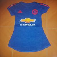 Baby Dress / Baju Bola Bayi Anak Cewek MU Away 16/17