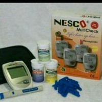 NESCO multi check 3in1(kolestrol.asam urat.gula darah)