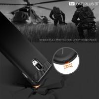 OnePlus 3T XCASE Slim Rugged Case-Black Carbon