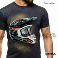 CROSS HELMET - Kaos 3D Umakuka Original Bandung
