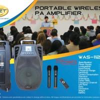 KREZT WAS-112FV - PORTABLE SOUND SYSTEM