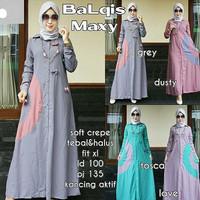j.s Dress Murah / Dress Muslim / Maxi Dress / Balqis Maxy