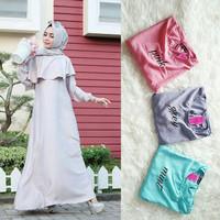j.s Dress Murah / Dress Muslim / Maxi Dress / Amira Dress