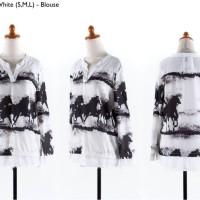 white (S,M,L) Blouse -42131