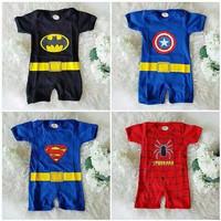 jumper bayi superhero batman spiderman superman captain america tuxedo