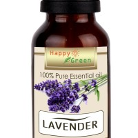 Happy Green Minyak Atsiri Bunga Lavender 10 ml- Lavender Essential Oil