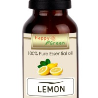 Happy Green Minyak Atsiri Jeruk Lemon (5 ml) - Lemon Essential Oil