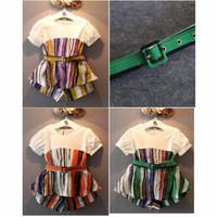 VS13-506 GIRLSET Baju Pakaian Setelan Import Murah Anak Perempuan