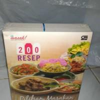 Buku 200 Resep Pilihan Masakan dan Jajanan Khas Daerah Ide Masak