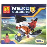 Lego mini figure Nexo Knights - Flame Thrower (Lele 79312)